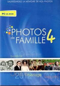 CDIP - Photos de famille 4. 1 Cédérom