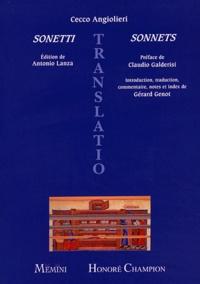 Cecco Angiolieri - Sonetti : Sonnets.