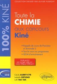 Cécile Aubry-Cyr et Isabelle Ortuno - Toute la chimie aux concours Kiné.
