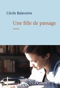 Cécile Balavoine - Une fille de passage.