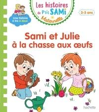 Cécile Beaucourt - Sami et Julie à la chasse aux oeufs.