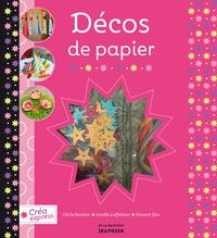 Décos de papier - Avec 15 feuilles de papier, 5 rubans et 1 sachet de sequins.pdf