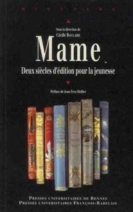 Ebooks téléchargement gratuit nederlands Mame  - Deux siècles d'édition pour la jeunesse (French Edition) par Cécile Boulaire 9782753518582