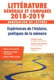 Cécile Brochard - Expérience de l'histoire, poétiques de la mémoire - Agrégation de lettres, Littérature générale et comparée.