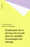 Cécile Brossollet et François Bourguignon - Fondements de la division du travail dans les modèles économiques du ménage.