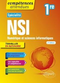 Cécile Canu - Spécialité NSI Numérique et sciences informatiques 1re.