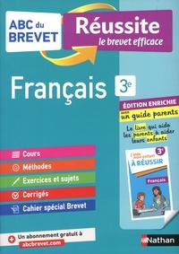 Cécile de Cazanove - Français 3e - Avec un guide parents.