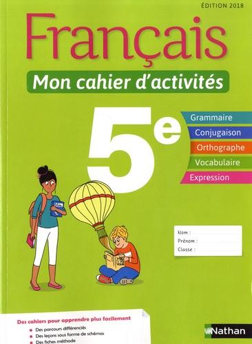 Francais 5e Mon Cahier D Activites Grand Format