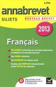 Deedr.fr Français Brevet séries générale et professionnelle - Sujets Image