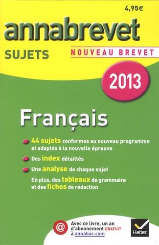 Francais Brevet Series Generale Et Professionnelle Sujets