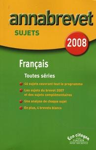Cécile de Cazanove et Antonia Gasquez - Français Brevet séries générale, technologique et professionnelle - Sujets.