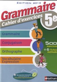 Grammaire cahier dexercices 5e.pdf