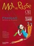 Cécile De Ram et Xavier Knowles - Français CM1 Mot de passe - Guide pédagogique, programmes 2008. 1 CD audio