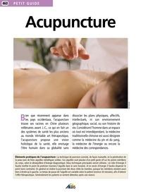 Téléchargement ebook anglais gratuit Acupuncture CHM (Litterature Francaise) par Cécile Decroix, Sylvain Evezard 9782842599416