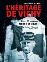 Ebooks suédois téléchargement gratuit L'héritage de Vichy  - Ces 100 mesures toujours en vigueur