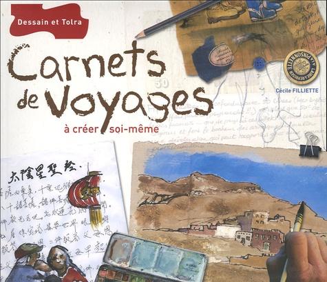 Cécile Filliette - Carnets de voyages à créer soi-même.