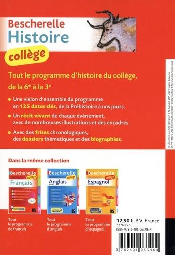 Bescherelle histoire collège  Edition 2020