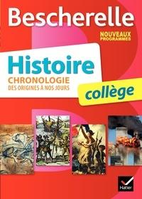 Cécile Gaillard et Guillaume Joubert - Histoire collège - Chronologie des origines à nos jours.