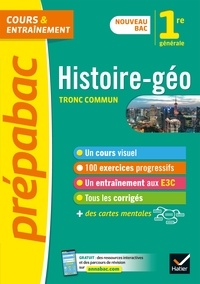 Télécharger des ebooks sur ipad gratuitement Histoire-Géographie 1re (tronc commun) - Prépabac Cours & entraînement  - nouveau programme de Première