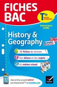 Cécile Gaillard - History & Geography Tle section européenne - Epreuve orale de DNL.