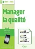 Cécile Germain et Vanessa Vitet - Manager la qualité.