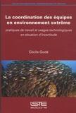 Cécile Godé - La coordination des équipes en environnement extrême - Pratiques de travail et usages technologiques en situation d'incertitude.