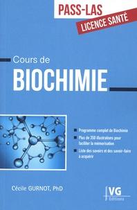 Cécile Gurnot - Cours de biochimie.