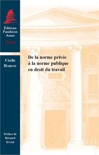 Deedr.fr De la norme privée à la norme publique en droit du travail Image