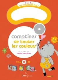 Cécile Hudrisier - Comptines de toutes les couleurs. 1 CD audio MP3
