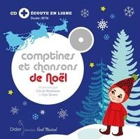 Cécile Hudrisier - Comptines et chansons de Noël - relook.