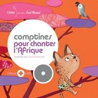 Cécile Hudrisier - Comptines pour chanter l'Afrique. 1 CD audio