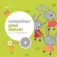 Cécile Hudrisier - Comptines pour danser. 1 CD audio