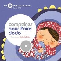 Cécile Hudrisier - Comptines pour faire dodo - relook.