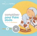 Cécile Hudrisier - Comptines pour faire dodo. 1 CD audio
