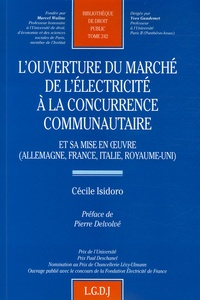 Deedr.fr L'ouverture du marché de l'électricité à la concurrence communautaire - Et sa mise en oeuvre (Allemagne, France, Italie, Royaume-Uni) Image