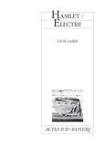 Cécile Ladjali - Hamlet/Electre.