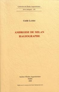 Cécile Lanéry - Ambroise de Milan : hagiographie. 1 Cédérom