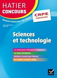 Cécile Laruelle-Detroussel et Hélène Lesot - Hatier Concours CRPE 2017 - Epreuve orale d'admission - Sciences et technologie.