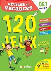 Cécile Laugier - Réviser en vacances du CE1 au CE2 - 120 jeux sur tout le programme.