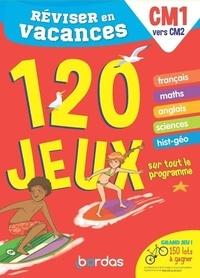 Cécile Laugier et Aurore Meyer - Réviser en vacances du CM1 au CM2 - 120 jeux sur tout le programme.