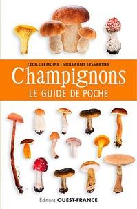 Cécile Lemoine et Guillaume Eyssartier - Champignons - Le guide de poche.