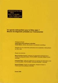 Openwetlab.it Un agenda métropolitain pour le Sillon alpin ? - Mission de diagnostic préalable sur l'événementiel Image