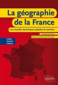 La géographie de la France- Les nouvelles dynamiques spatiales du territoire - Cécile Michoudet pdf epub