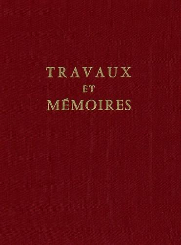Cécile Morrisson et André Guillou - Travaux et Mémoires. - Tome 6, Recherche sur le Xie siècle.