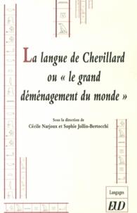 """Cécile Narjoux et Sophie Jollin-Bertocchi - La langue de Chevillard ou """"le grand déménagement du monde""""."""