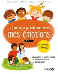Cécile Neuville et Junet Pambou - Je joue et je découvre mes émotions 5-8 ans - Avec 1 plateau de jeu et 140 cartes.