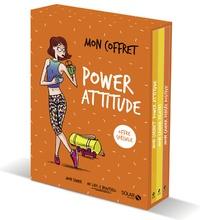 Cécile Neuville et Soasick Delanoë - Mon coffret power attitude - Coffret en 3 volumes : Mon carnet power attitude ; Mon cahier pilates ; Mon cahier pensée positive.