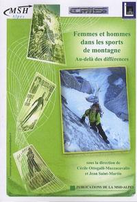 Cécile Ottogalli-Mazzacavallo et Jean Saint-Martin - Femmes et hommes dans les sports de montagne - Au-delà des différences.