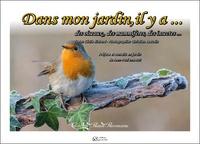 Cécile Richard et Christian Beaudin - Dans mon jardin, il y a... des oiseaux, des mammiferes, des insectes....