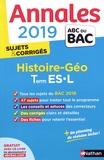 Cécile Vidil - Histoire-Géographie Tle ES-L - Sujets & corrigés.